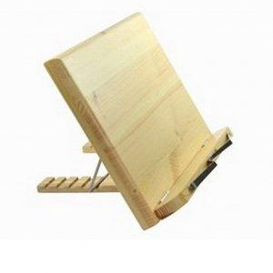 Atril para libros de madera