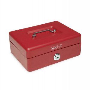 Cajón portamonedas rojo
