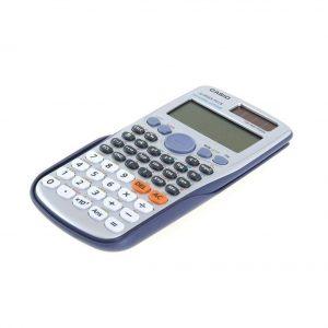 Calculadora científica en color gris