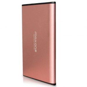 Disco duro externo SSD rosa