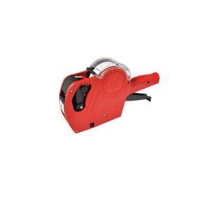 Etiquetadora de color rojo