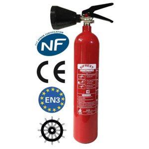 Extintor con soporte de montaje de Anaf