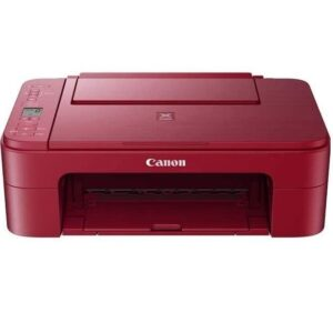 Impresora Canon roja