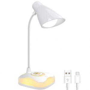 Lámpara de mesa con control táctil