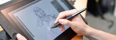 Tabletas gráficas con pantalla