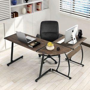 Mesa de escritorio moderna para negocios