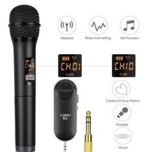 Micrófono inalámbrico para fiestas