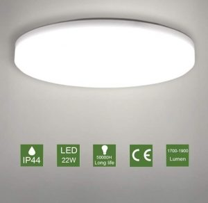 Plafón LED de techo redonda