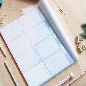 Planificador semanal Amelie