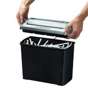 Trituradora de papel de corte en tiras