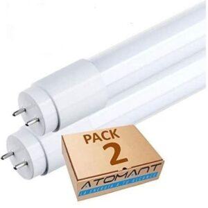 Tubo fluorescente LED de fácil instalación